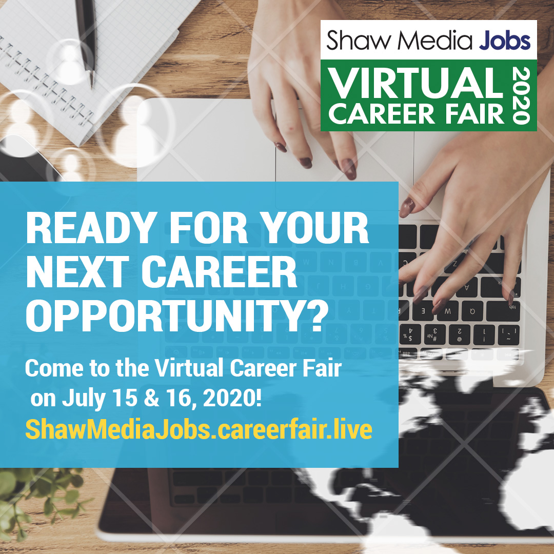 Virtual Career Fair Facebook Ad 1080x1080